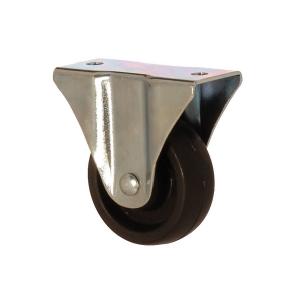 2105 MHB 050 | 50 mm Çaplı Tablalı Moblen (PP) Burçlu Sabit Teker