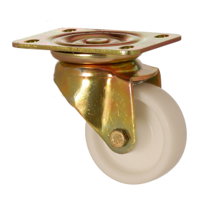 6102 MAB 200 | 200 mm Plated Polypropylene (PP) Bushing Swivel Caster
