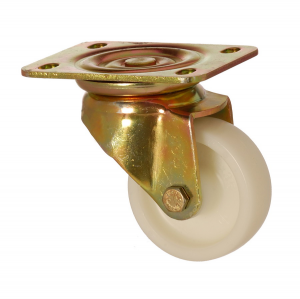 6102 PAB 055 | 55 mm Plated Polyamide (PA6) Bushing Swivel Caster