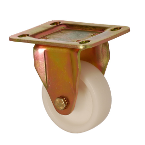 6105 MAB 055 | 55 mm Plated Polypropylene (PP) Bushing Fixed Caster
