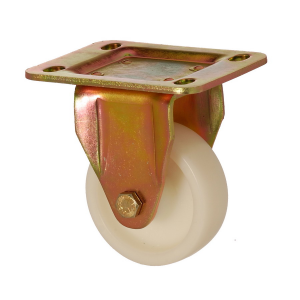6105 PAB 200 | 200 mm Plated Polyamide (PA6) Bushing Fixed Caster