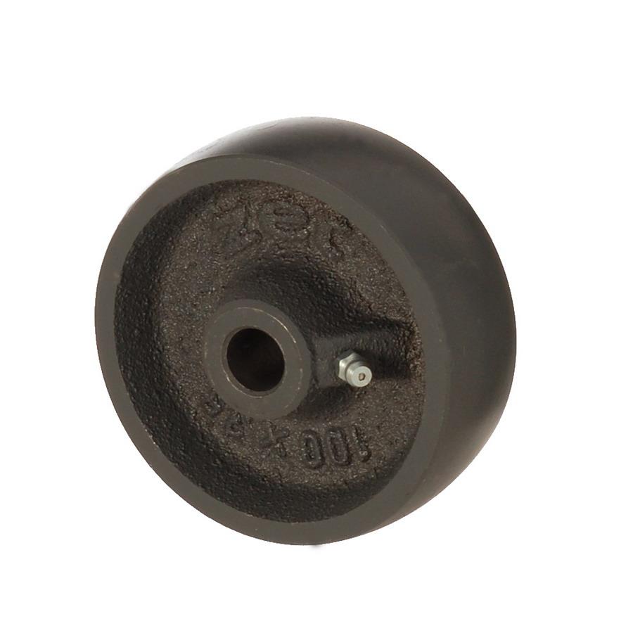 DAB 100*35 | 100 mm Çaplı Döküm Burçlu Yedek Makara