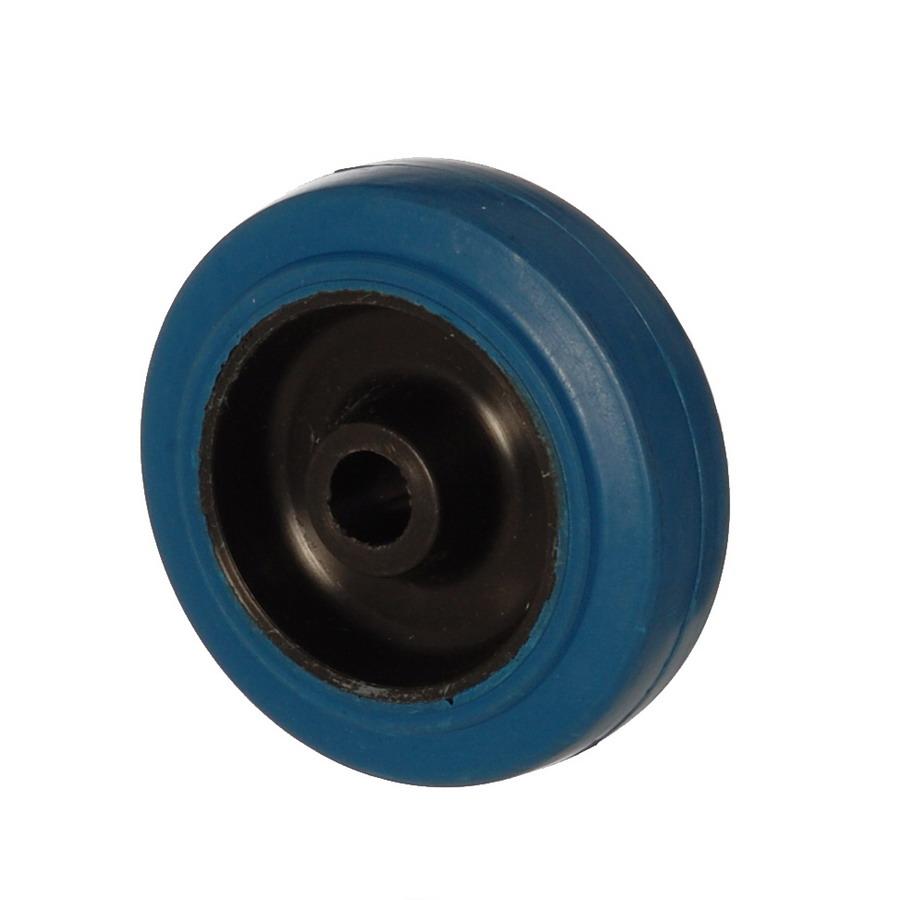 MBB 100*32 | 100 mm Çaplı Moblen (PP) Üzeri Dolgu Lastik Burçlu Yedek Makara