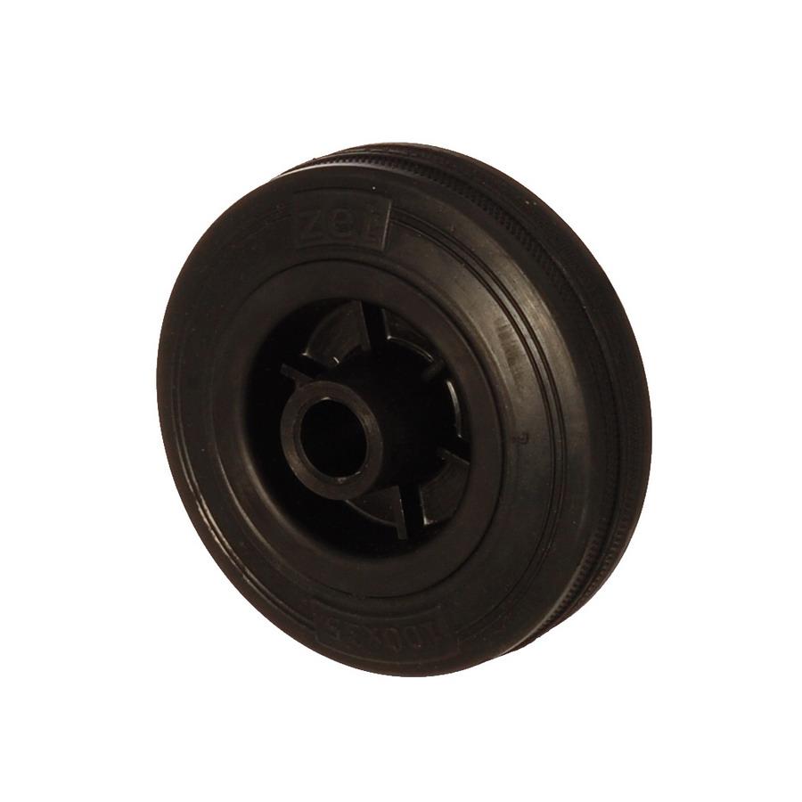 MLB 125*40 | 125 mm Çaplı Moblen (PP) Üzeri Dolgu Lastik Burçlu Yedek Makara